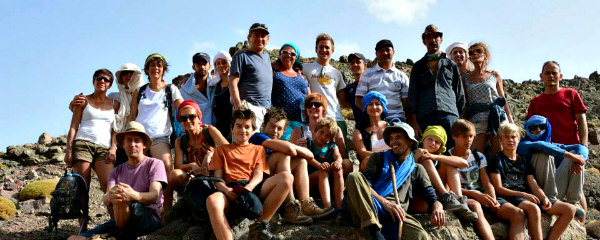 group trekking in morocco
